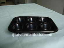 6 cavidades bolo bandeja