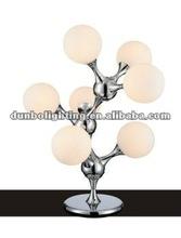 2012 Modern Glass Room Table Lamp