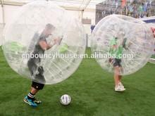 Inflatable bumper ball, bubble football