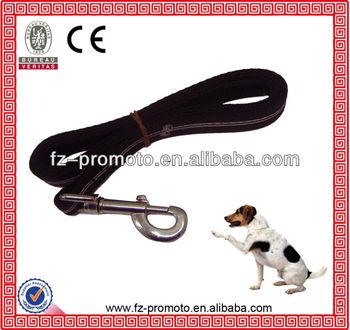 2014 new black dog leash in high quality