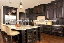 Dark Chocolate Solid Wood kitchen cabinet