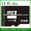 OEM full capacity 32gb micro sd card 32gb class 10 with low price