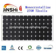 270W 36V mono Solar Panel (Solar Module,PV panel ) for solar system