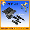 Solar Mosquito Killer light,insect trap with 3PCS LED light