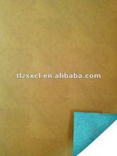 Easily fixed shape microfiber faux bag pu leather material