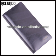 Fashion design high quality leather handmade leather craft wallet