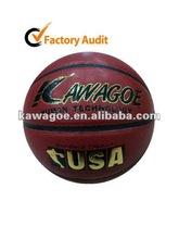 100% leather Basketball
