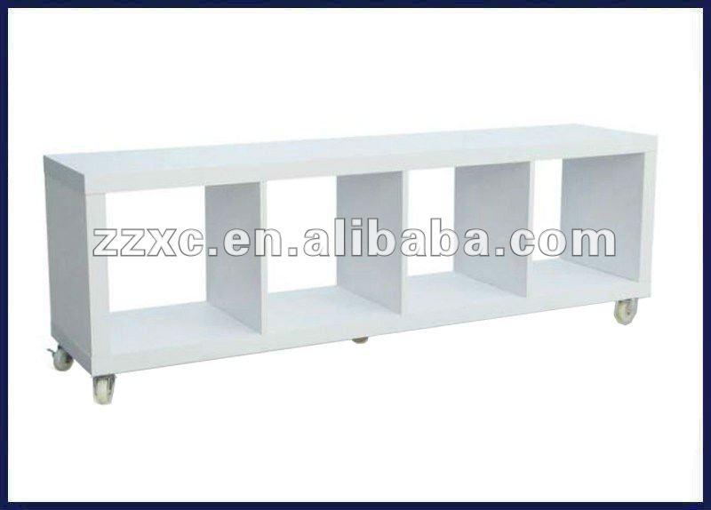 Revisteiro de madeira xc- s- 032( branco)