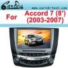 For HONDA ACCORD Car DVD (2003-2007) For Honda accord 7 Car DVD