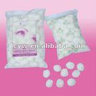 cotton ball (white )