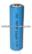 14500 AA LiFePO4 3.2v Lithium Rechargeable Batteries
