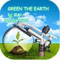 """1-1 / 4 """"agriculture arrosage jardin système d'irrigation aspersion arroseur"""