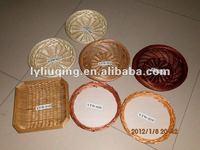 circle egg willow ring basket