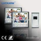 Waterproof 7'' TFT Color Video Door Phone for two families
