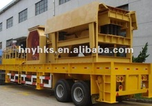 Industrial hot used mobile crushing and screening plant of China
