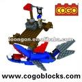 cogo bloco de construção de piratas do caribe brinquedo de blocos de construção