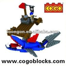 COGO Building Block Pirates Of The Caribbean toy building blocks