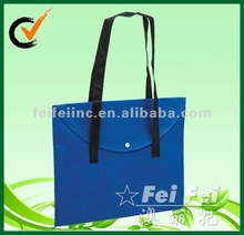 Reuse PP nonwoven shopping plastic bags for sale flat bag
