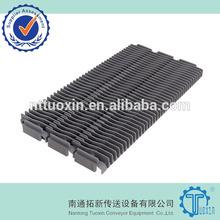 400 Raised Rib Straight Run Plastic Modular Conveyor Belt, Modular Belting