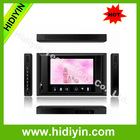 2014 USB/SD/WIFI/3G/HDMI 10 inch metal case taxi bus NETWORKING advertising player /wireless digital signage displayer