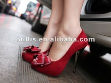 2012 women shoes leather product new design ho972