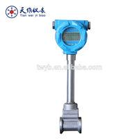 digital air indicators stainless steel vortex flow meter
