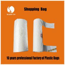 Transparent PE freezer plastic bag