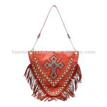 2012 newest fashion lady handbag in light brown