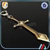 7 days for sample 3D design metal sword keychain