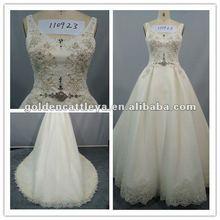 luxuriöse gd110923 perlen ärmelloses marokkanischen hochzeitskleid