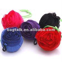 Cute Rose Foldable Reusable Shopping Bag