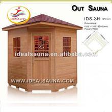 outdoor infrared sauna house