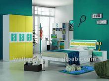 WM838 2012 Stylest children bedroom furniture