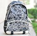 popular de nuevo de moda adolescente de la universidad de nylon schoolbag mochilas bolsos