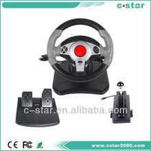 Racing car Vibration Gaming Steering Wheel