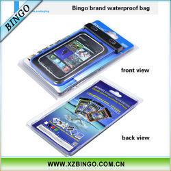Bingo mobile phone dry bag for samsung note2 7100