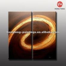 Modern abstract paintings couples handmade Oil Painting HF-MGP256