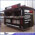 Quiosque de comida móvel JX-FS280F para venda de lanche na rua