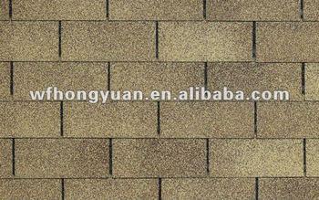 Best Price Colorful Plain Standard Asphalt Roofing Shingle