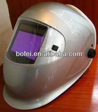 Large view 100x60mm auto-darkening welding helmet
