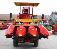 4YZ-3 corn combine harvester (mini type) 3 row corn harvester
