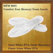 Full length memory foam shock proof shoe insole