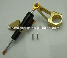 Free samples Motorcycle Steering Damper for CBR600F4i 01 07 2001 2002 2003 2004 2005 2006 2007 black and gold