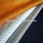 breathable mesh football jersey fabric