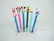 school accessory Polymer Clay Cartoon animal Promotional Ball Pens