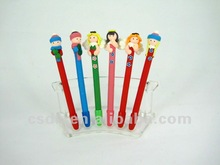 Polymer Clay Creative Stationery Ball Pen for children school accessaries