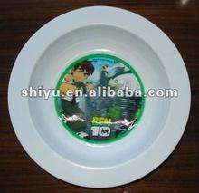 Plastic Dishes and Plates,Dia 16.5cm ,BEN10 design