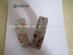 Printed washi masking tape