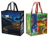 Excellent durable laminated woven shopping tote bag