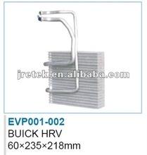 aluminium auto air conditioner evaporator